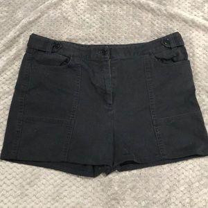 Talbots Stretch black shorts